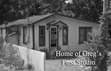 Greg's Frist studio