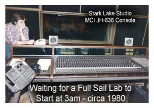 Stark lake studio sound console