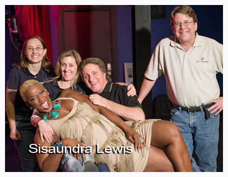 Sisaundra Lewis and friends