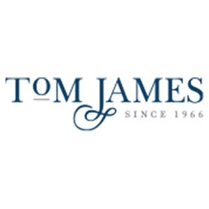 tom james clothing logo